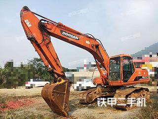 永州斗山DH220LC-V挖掘机实拍图片