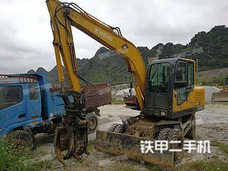 百色鑫豪XH906L挖掘机实拍图片