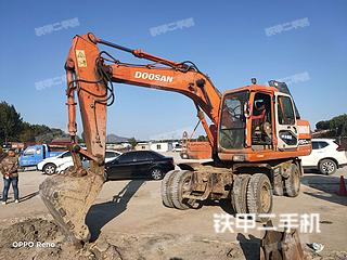 厦门斗山DH150W-7挖掘机实拍图片