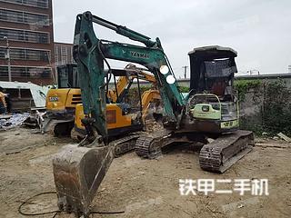上海洋马Vio40-5挖掘机实拍图片