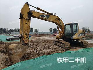 临沂卡特彼勒320C挖掘机实拍图片