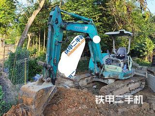 上海洋马Vio40-3挖掘机实拍图片