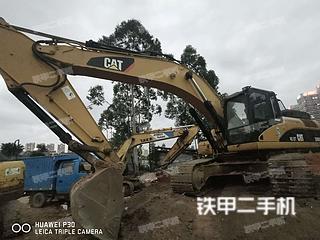 深圳卡特彼勒336DL挖掘机实拍图片
