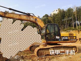 杰西博JS220LC挖掘机实拍图片