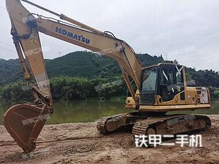 梧州小松PC210LC-8挖掘机实拍图片