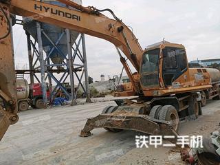 泉州現代R210W-5挖掘機實拍圖片