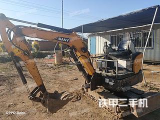 秦皇島三一重工SY16C挖掘機實拍圖片