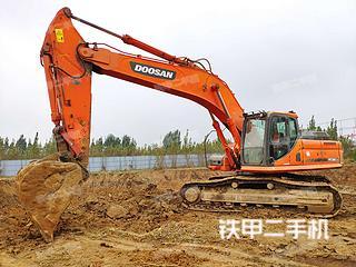 临沂斗山DX380LC挖掘机实拍图片