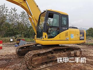 杭州小松PC200-7江西11选5中奖规则实拍图片