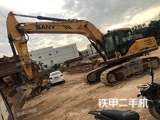深圳三一重工SY215C-8挖掘机实拍图片