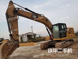 卡特彼勒新一代Cat®320GC液压挖掘机实拍图片