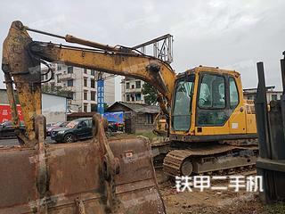 湖南-邵阳市二手山东临工E6135F挖掘机实拍照片