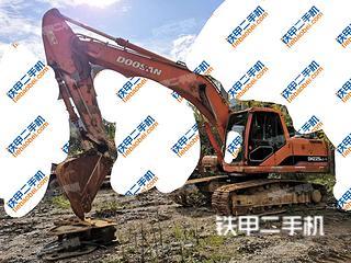贵州-黔东南苗族侗族自治州二手斗山DH215-7挖掘机实拍照片