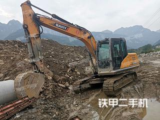 宜昌三一重工SY155C挖掘机实拍图片
