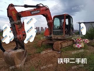 安康斗山DX75-9C挖掘機實拍圖片