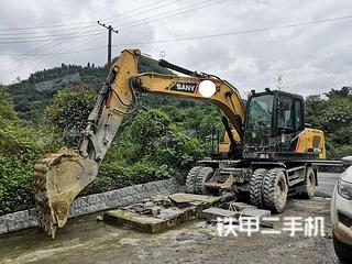 厦门三一重工SY155W挖掘机实拍图片