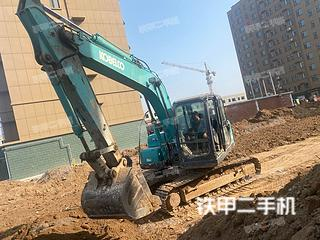 潍坊神钢SK140LC-8挖掘机实拍图片