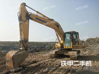 河南-开封市二手小松PC200-8挖掘机实拍照片