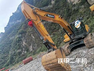 宜昌三一重工SY215C挖掘机实拍图片