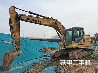 河南-郑州市二手小松PC200-8挖掘机实拍照片