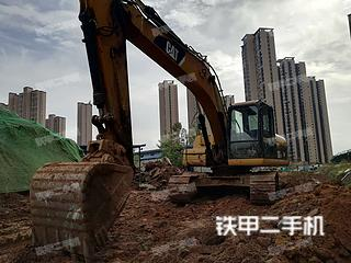 宜昌卡特彼勒320DGC液压挖掘机实拍图片