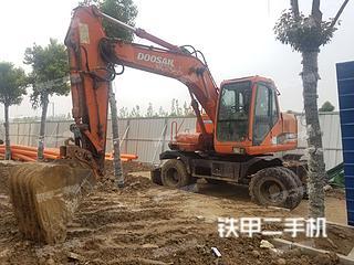 斗山DH150W-7挖掘机实拍图片