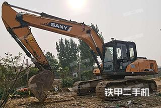 潍坊三一重工SY215C挖掘机实拍图片