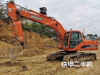 鞍山斗山DH220LC-7挖掘機實拍圖片