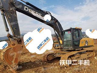 陕西-西安市二手约翰迪尔E210LC挖掘机实拍照片