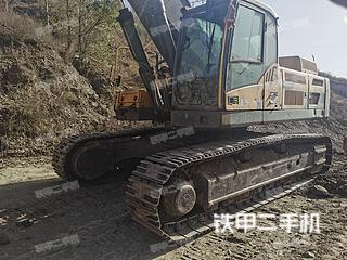 沃尔沃EC480DL挖掘机实拍图片