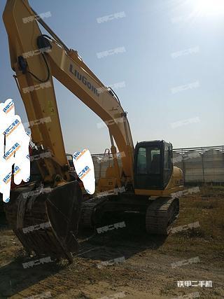 北京柳工CLG922D挖掘機實拍圖片