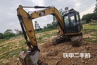 玉林卡特彼勒307D液压挖掘机实拍图片