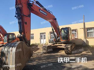 秦皇島斗山DX300LC-9C挖掘機實拍圖片