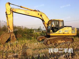 鞍山小松PC200-7挖掘機實拍圖片