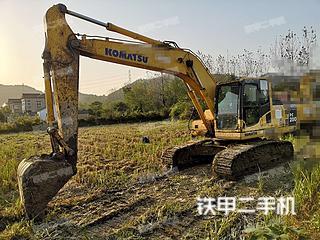 鞍山小松PC200-8挖掘機實拍圖片