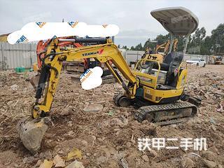 洋马Vio15-2挖掘机实拍图片