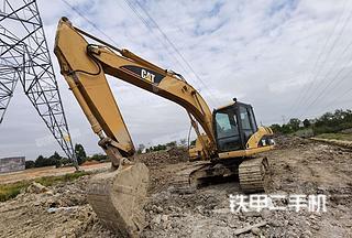 玉林卡特彼勒320D液压挖掘机实拍图片