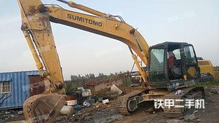 邯郸住友SH210-6江西11选5中奖规则实拍图片