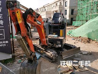 包頭斗山DX17z挖掘機實拍圖片
