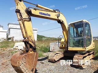 永州小松PC60-7挖掘机实拍图片