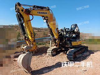 洋马VIO30-6B挖掘机实拍图片