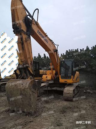 陕西-咸阳市二手龙工LG6235挖掘机实拍照片