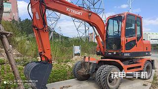 泉州新源XY75W-8挖掘機實拍圖片