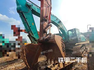 神鋼SK350LC-10挖掘機實拍圖片