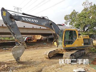 鞍山沃爾沃EC210B挖掘機實拍圖片