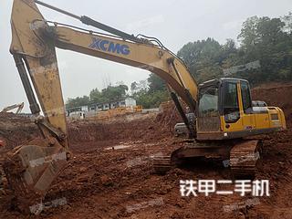 湖南-湘西土家族苗族自治州二手徐工XE240D挖掘机实拍照片
