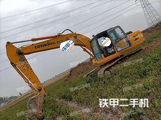 济宁龙工LG6225E挖掘机实拍图片