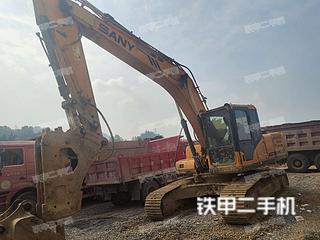 湖南-湘西土家族苗族自治州二手三一重工SY215C挖掘机实拍照片