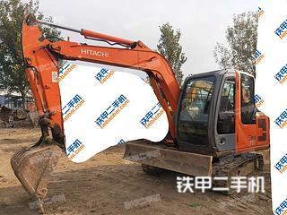 西寧日立EX60-6挖掘機實拍圖片