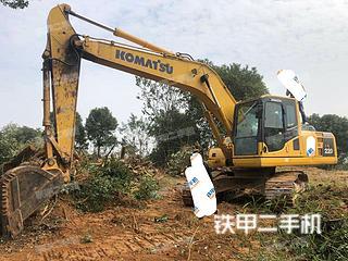 塘沽小松PC200-8M0挖掘機實拍圖片